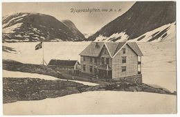 Djupvashytten 1000 M. O. H.  P. Used  Grotlien 1911 - Norvège