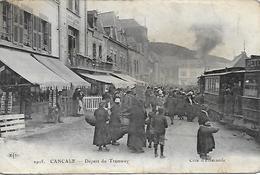 35)   CANCALE  -  Départ Du  Tramway - Cancale