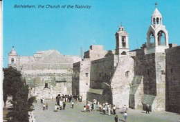 BETHLEHEM, THE CHURCH OF THE NATIVITY. STAR CARDS. UNUSED. CIRCA 1990's- BLEUP - Israël