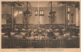 Isére : GRENOBLE : 4é Régiment Du Génie ( Réfectoire 1é Compagnie ) - Casernes
