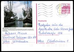 84857) BRD - P 138 - R12/191 - OO Gestempelt - 2853 Dorum, Kutterhafen - [7] West-Duitsland