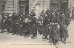 33--BORDEAUX--AOUT 1914-ZOUAVES DEVANT LA FACULTE DES SCIENCES--VOIR SCANNER - Bordeaux