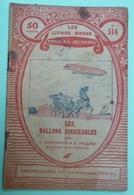 LES BALLONS DIRIGEABLES Par P. DEMOUSSON & H. PELLIER - Collection Les Livres Roses Pour La Jeunesse - N°514 - Books, Magazines, Comics