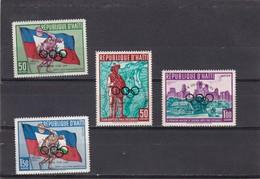 Haiti Nº 430 Y A184 Al A186 - Haití