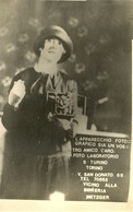 """1031 """"CARTOLINA PUBBLICITARIA LABOR. FOTOGRAFICO DI TORINO"""" CART. POSTALE  NON SPED. - Pubblicitari"""