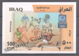 Irak - Iraq 2006 Yvert BF 98, Athens, Summer Olympic Games - Miniature Sheet - MNH - Irak