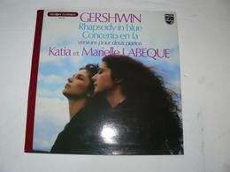 N° 9500 917 GERSHWIN . Rhapsodiy In Blue. KATIA & MIREILLE LABEQUE. - Classical