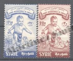 Syrie - Syria - Siria 1957 Yvert Airmail 125-26, Year Of The Children - MNH - Syria