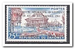 Dahomey 1961, Postfris MNH, Stilt Houses ( Overprint Sport Games ) - Benin – Dahomey (1960-...)
