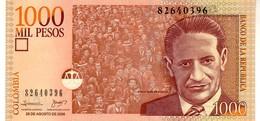 Colombia P.456  1000 Pesos 2008 Unc - Colombia