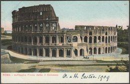 Anfiteatro Flavio Detto Il Colosseo, Roma, 1909 - Blümlein U/B Cartolina - Colosseum