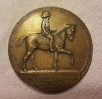 Médaille En Bronze - Bosnie Herzégovine Avec François Joseph 1er D ' Autriche - Signé Richard Placht - Tokens & Medals