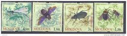 2009. Moldova, Insects, 4v,  Mint/** - Moldova