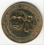 Monnaie De Paris 46.Rocamadour - Forêt Des Singes 2015 - Monnaie De Paris