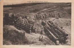 Isére : CHAMBARAN : Camp De Chambaran - 280 Allant Prendre Position - Caserme