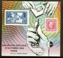 FRANCE Bloc CNEP N°44 Non Dentelé (PARIS 2005) - Cote 30.00 € - CNEP