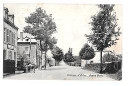 Environs D'Arlon Café Quatre Vents Maison Tempels Funk Willems 1907 Bon état - Arlon