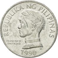 Monnaie, Philippines, 10 Sentimos, 1990, TTB, Aluminium, KM:240.2 - Philippines