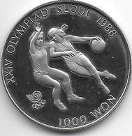 *korea South 1000 Won 1986  Km 46  Proof - Korea, South