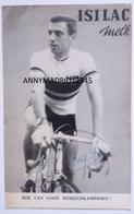 CP -  CYCLISME- CICLISMO-TOUR DE FRANCE - RIK VAN LOOY (Signé) - Cycling