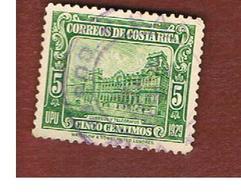 COSTA RICA  -  SG 175 -  1930 POST OFFICE        -  USED ° - Costa Rica