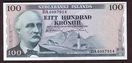 ISLANDE 100 Kronur Du 29 03 1961 - Pick 44 - UNC - Islande