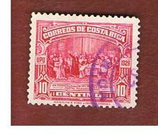 COSTA RICA  -  SG 176 -  1930 COLOMBO & ISABELLA        -  USED ° - Costa Rica