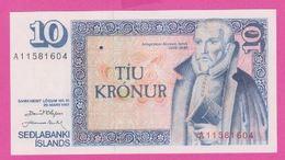 ISLANDE 10 Kronur Du 29 03 1961 - Pick 48 - UNC - Islande