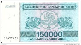 GEORGIE 150000 LARIS 1994 UNC P 49 - Géorgie