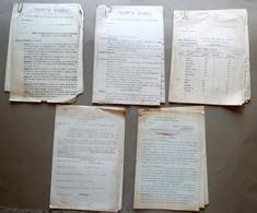 Carteggio Opera Balilla Comitato Provinciale Fiorentino 1934-37 Rep. Femminili - Vieux Papiers