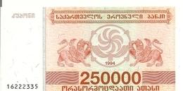 GEORGIE 250000 LARIS 1994 UNC P 50 - Géorgie