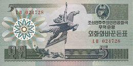 COREE DU NORD 5 WON 1988 UNC P 28 - Corea Del Nord