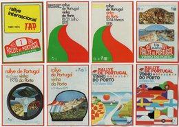 VP12.967 - PORTUGAL - 1986 - Sport Automobile - Petit Calendrier - Calendario X 12 - Rallye International Vinho Do PORTO - Calendriers