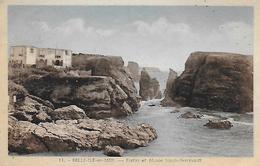 56)  BELLE  ILE  En  MER  - Fortin Et Musée Sarah Bernhart - Belle Ile En Mer