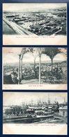 Genova. Lot De 12 Cartes. Panoramas Différents. Voir Descriptions. Ca 1900 ( 11) Et 1919 (1) - Genova (Genoa)