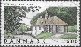 DENMARK 2004 Domestic Architecture - 6k - Liselund, Mn (Andreas Kirkerup) FU - Gebraucht