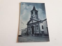 GENAPPE L'Eglise Bleutée- Animée Surtaxe De 10c 1918 - Genappe