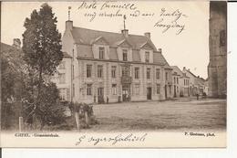 Gheel - Gemeentehuis   1903 (Geanimeerd) - Geel