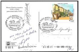 Italia/Italie/Italy: La Fontana Del Vino, La Fontaine De Vin, The Fountain Of Wine - Vini E Alcolici