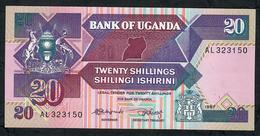UGANDA P29a 20 SHILLINGS 1987  UNC. - Ouganda
