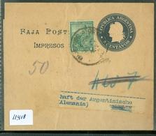 KRANTENBANDJE GELOPEN VAN ARGENTINIE NAAR BERLIN  (11.418) - Argentinië
