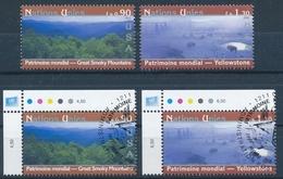 482-483 / 473-474 Vereinte Nationen Genf Serie Einwandfrei Postfrisch/** & Sauber Gestempelt - Gebraucht