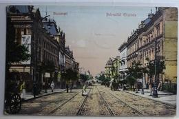 AK Bukarest Bulevardul Elisabeta 1908 Gebraucht #PC497 - Romania