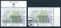 473 / 465 Vereinte Nationen Genf Serie Einwandfrei Postfrisch/** & Sauber Gestempelt - Gebraucht