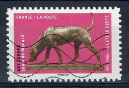 France, Dog In Arts, Dog By Louis De Monard, French Sculptor, 2018, VFU Self-adhesive - Frankrijk