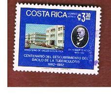 COSTA RICA  -  SG 1297  -  1982  TUBERCLE BACILLUS DISCOVERY: KOCH     -  USED ° - Costa Rica
