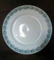"""PLAT à GATEAU Service """"IBERIA"""" Faience Céramique Earthenware LA FRANCAISE E.G.T. (Nancy ?) Ca 1930 ! - Saint Amand (FRA)"""