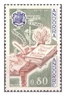 ANDORRA FR. -  1977 - ISTITUTO DI STUDI CULTURALI DI ANDORRA..  - MNH** - Nuovi