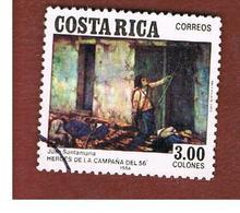 COSTA RICA  -  SG 1341  -  1984  JUAN SANTAMARIA, 1856   -  USED ° - Costa Rica