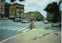 Lazio-roma-genzano Di Roma Via Appia Veduta Animatissima Via Appia Genzano Centro (vedi Retro) - Autres Villes
